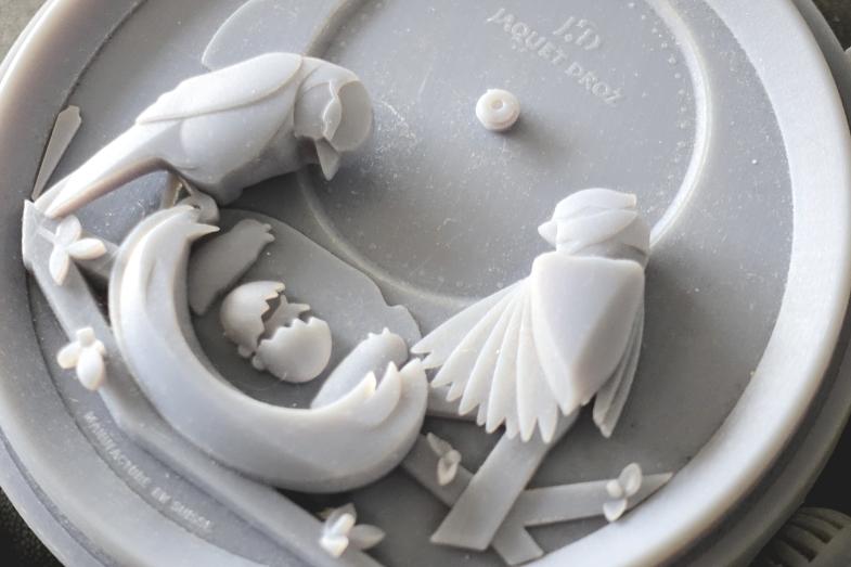 The Bird Repeater錶盤造模