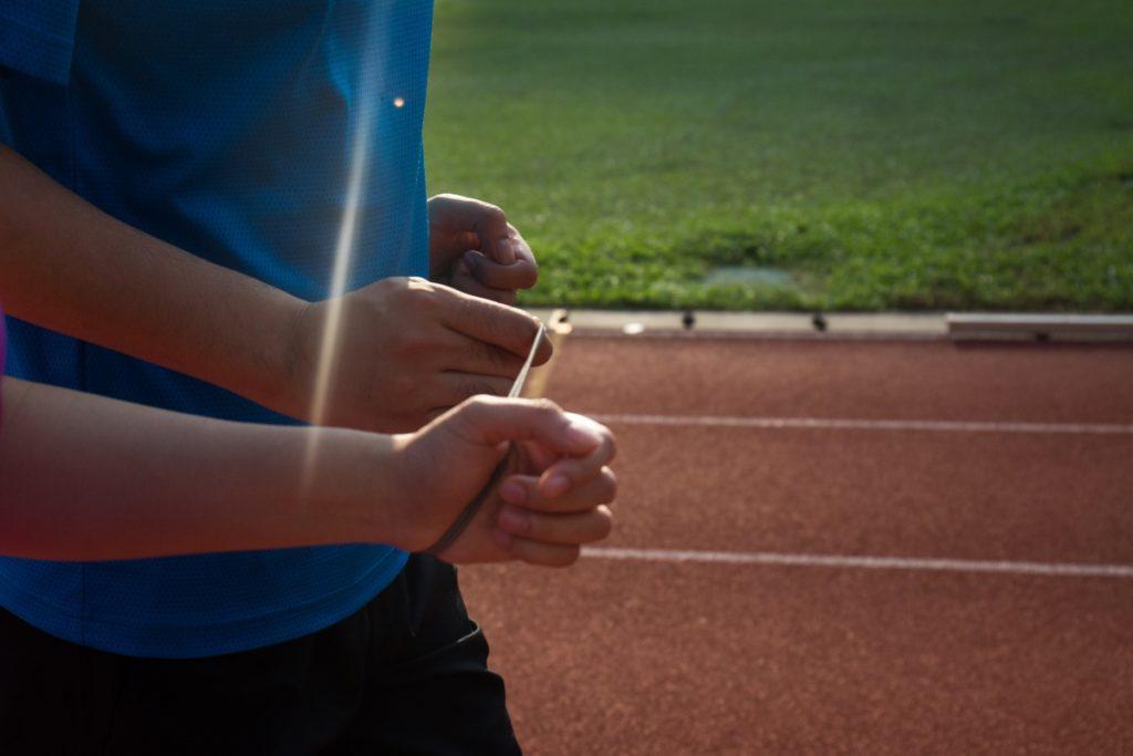 一起跑步,是彼此十分珍惜的美好時光。