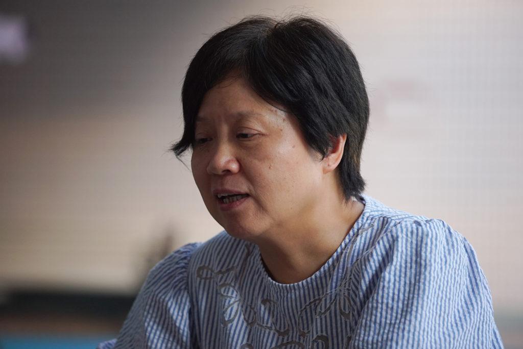 楊美玲表示野村誠是一位十分開明的藝術家。