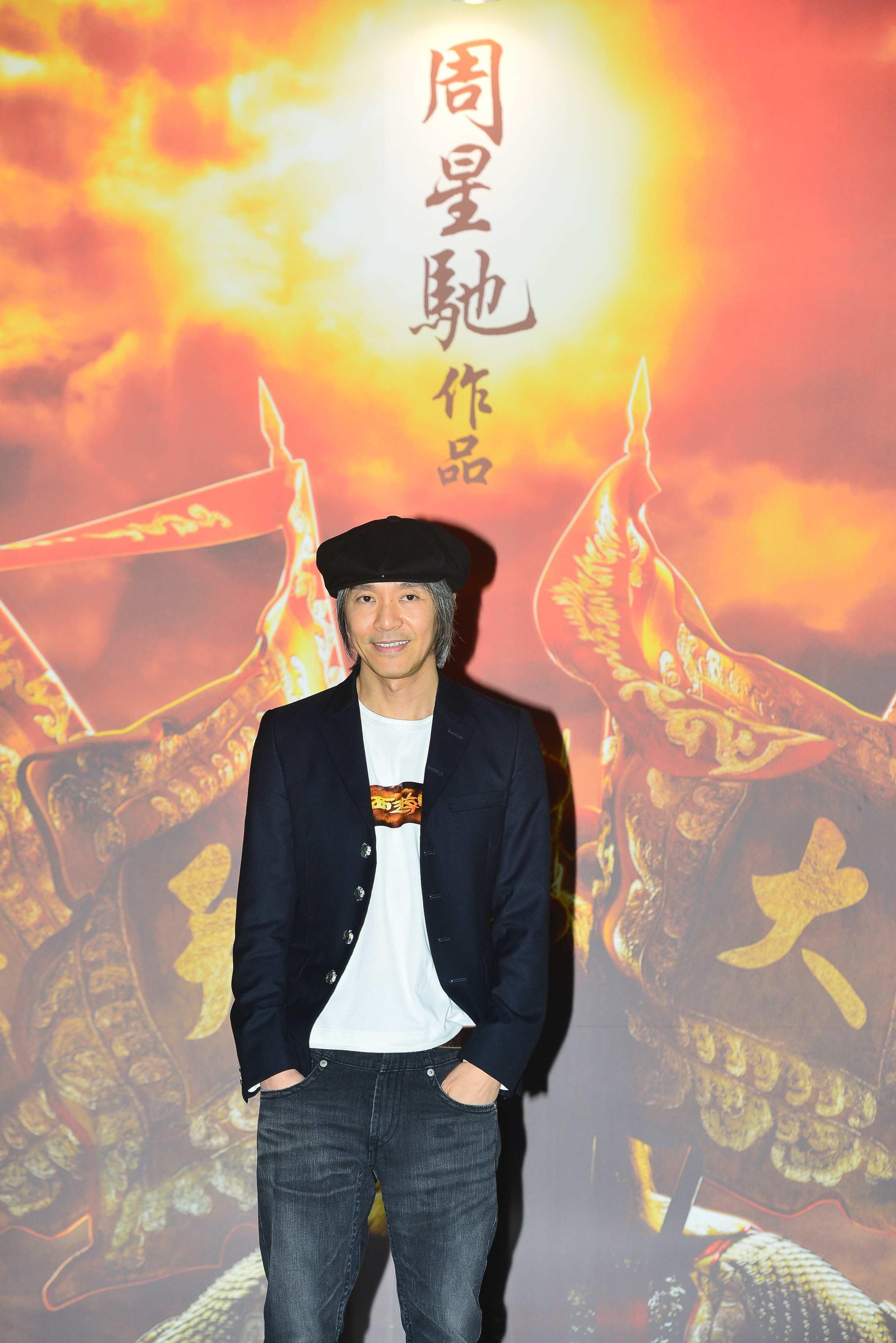郭子健跟周星馳聯合導演《西遊‧降魔篇》,但宣傳海報只寫着「周星馳作品」。