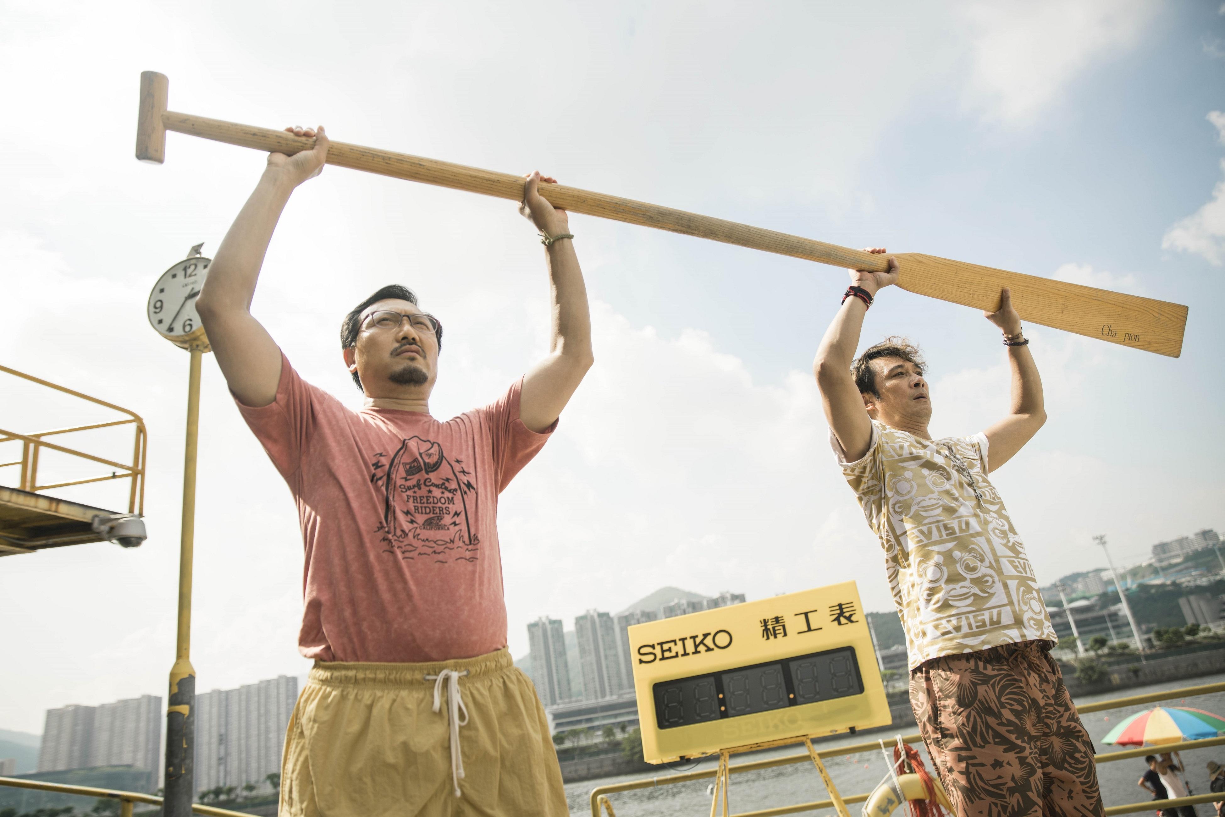 《逆流大叔》演員潘燦良及吳鎮宇。