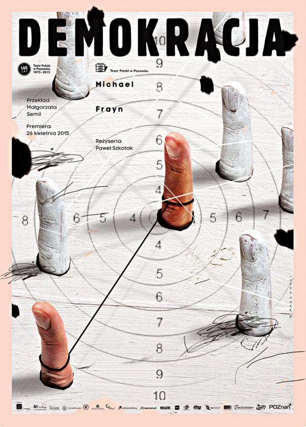波蘭設計師Marcin Markowski海報作品 - Democration(2015)