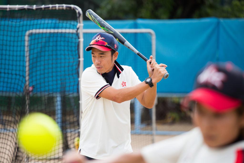 大島田要求運動員入球場認真,在球隊注入了不少日本文化。
