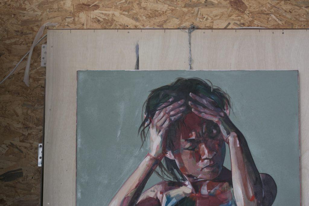 香港藝術家Simon Birch畫作