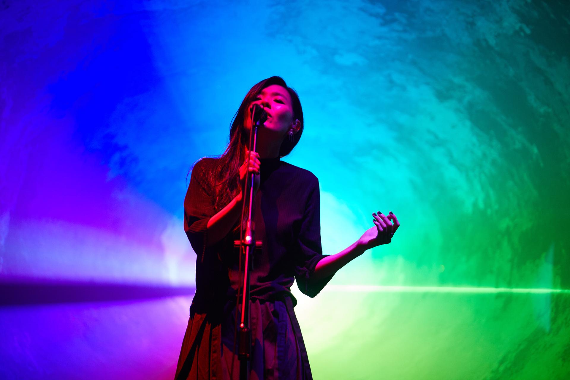 安溥在2018年首次踏上台灣小巨蛋,舉辦了一連兩場的《煉雲》音樂會。(照片由聯成娛樂提供)