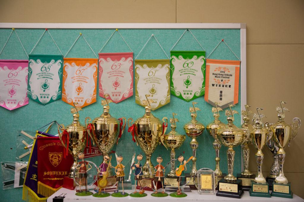 歷屆庇理羅士的學生在校際音樂節獲獎無數。
