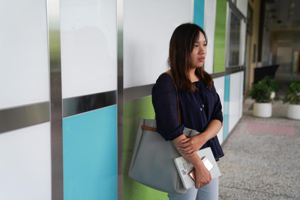 傘運對馮欣荃來說,是大學最深刻的一課。