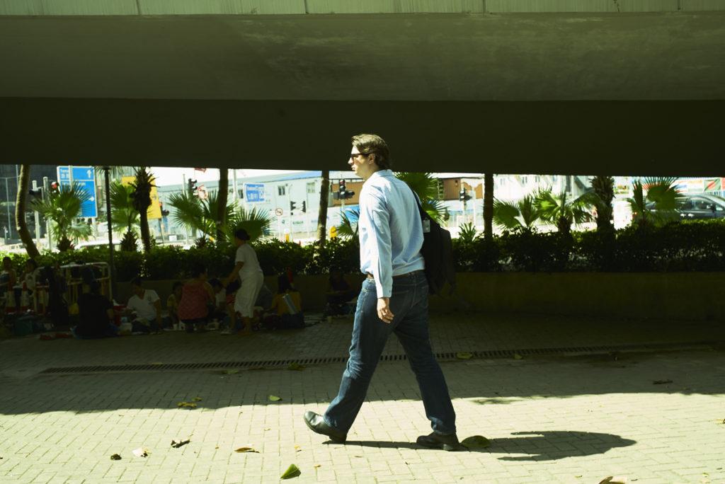 英國導演杜浩綸(Matthew Torne)稱自己做情繫香港的「鬼佬」。