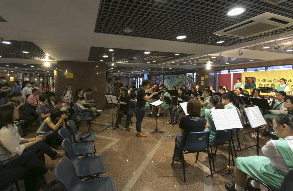 現任學生與舊生不時合作一起舉辦音樂會。