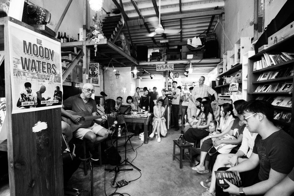 《慘島藍調節》今年八月在大澳舉辦了一場鄉村藍調音樂會。(相片由Elvis Chan及Michael Chiu提供)