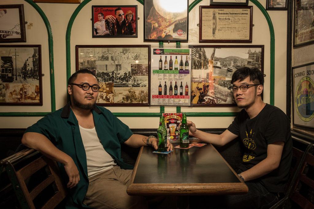 Andrew(左)及Tomii(右)共同舉辦了《慘島藍調節》。節目除了音樂會之外,還有工作坊及電影放映會,向大眾推廣藍調音樂。