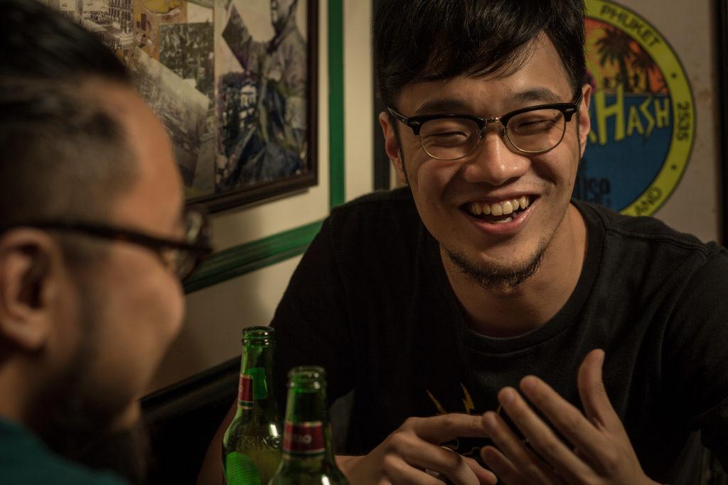 Tomii是一名結他手,今年推出一張《Not A Good Day To Die》,用藍調唱人生。