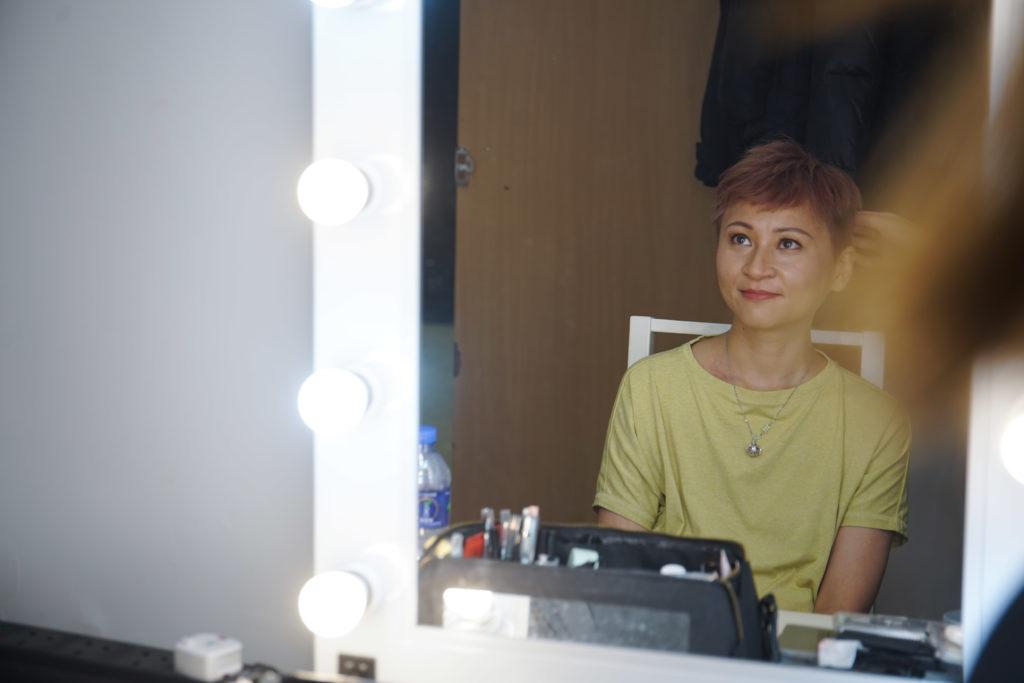 Chikia堅信女人的美不在外表,反是,內在心態,不完美才是美。