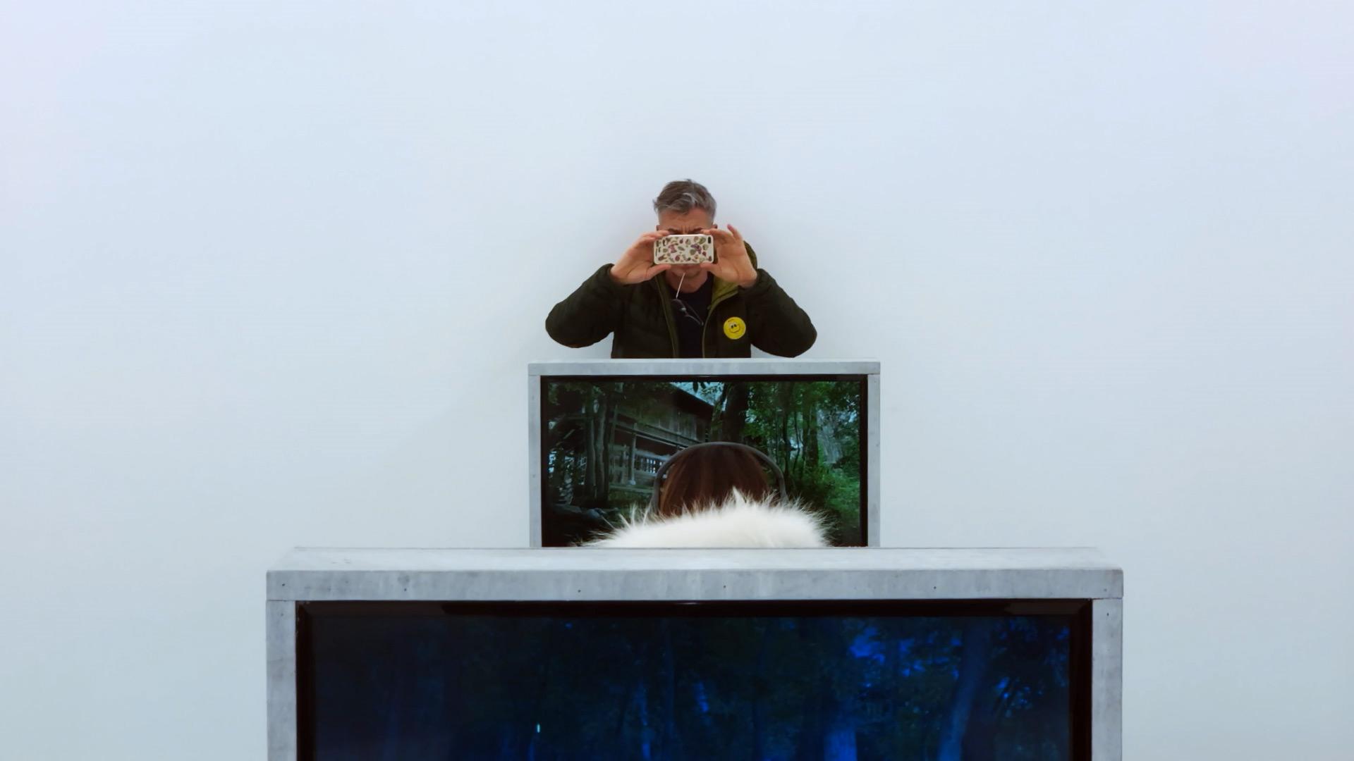 意大利藝術家及導演Yuri Ancarani用影像為是次展覽留下記錄