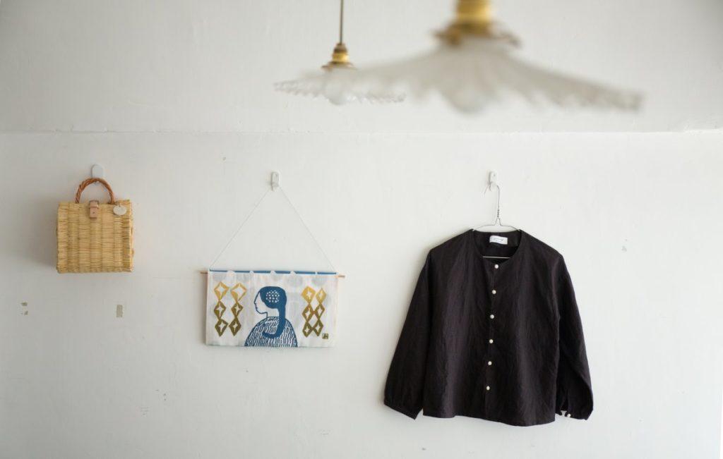 God Dag的衣服每款只做少量,以舒適和實用先行,寬鬆卻自在。