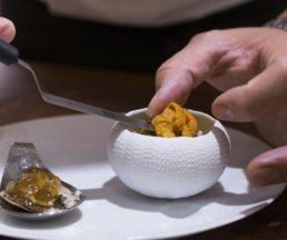 Chef Hiroki說,自己的創作理念是希望每一道菜式上桌都是驚喜。