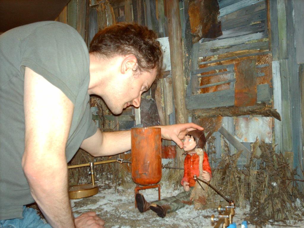 《Peter & the Wolf》主角Peter有很多複雜的心理變化,Tim把心思都放在調節眼神之中。
