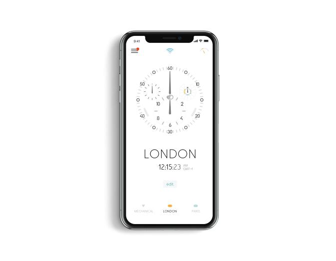 據報e-Crown®Concept將於兩個月後連同應用程式正式推出,並透過不同腕錶款式示人。