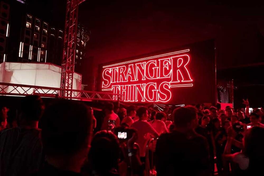 《Stranger Things》at Universal Studios Singapore