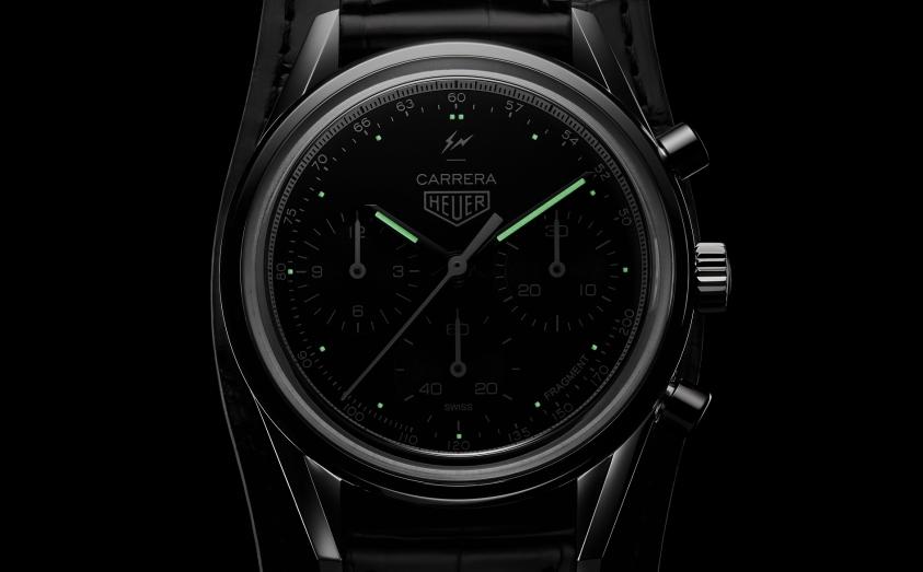 Tag Heuer與日本潮流教父藤原浩首次合作推出的Carrera Fragment腕錶