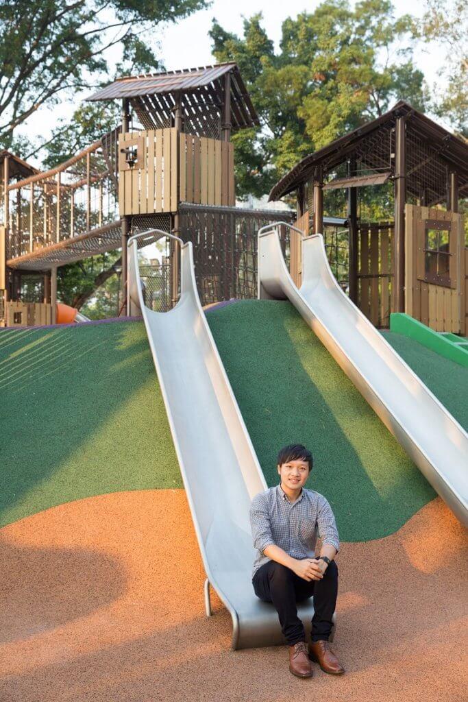 園境師陳雋浩邀請區內中學及特殊學校兒童參與部分設施設計,例如觸感牆,令設施更貼合需要。