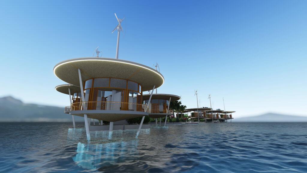 Joe Quirk的Seasteaders去年初成立Blue Frontiers公司,在南太平洋法屬羣島簽署「諒解備忘錄」,落實「海洋城邦」第一步。