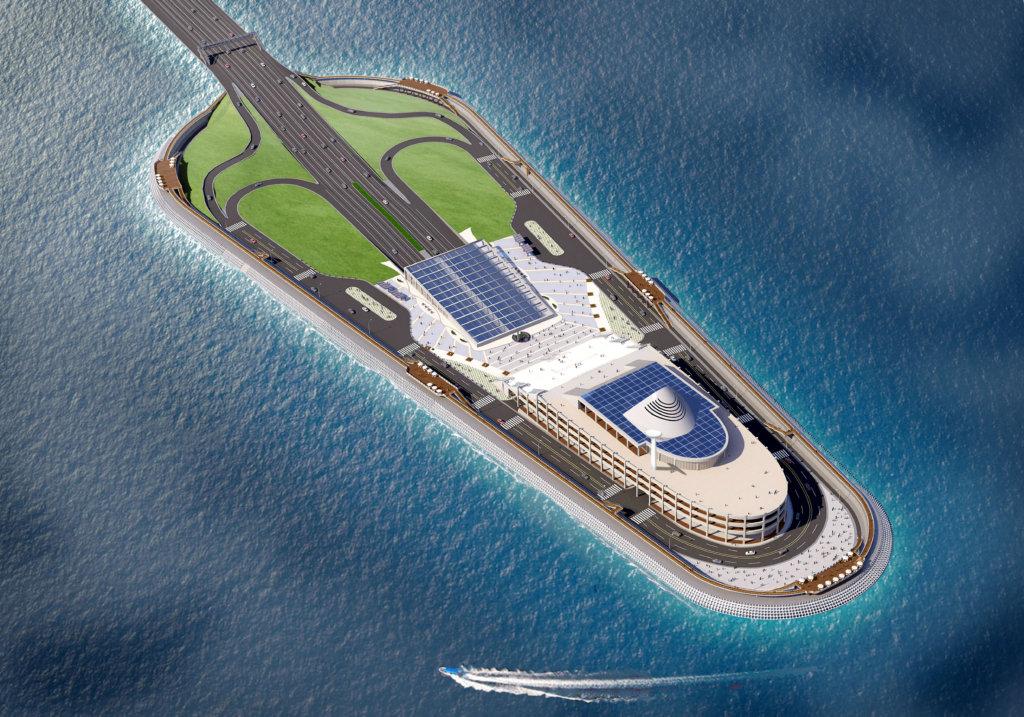 港珠澳人工島在超強颱風「山竹」來臨前已經過「大自然」的測試。