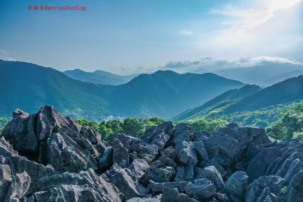 盧建民在獄中仍不斷透過臉書發表他對香港的「痛」和「愛」。圖為他拍攝的山景。