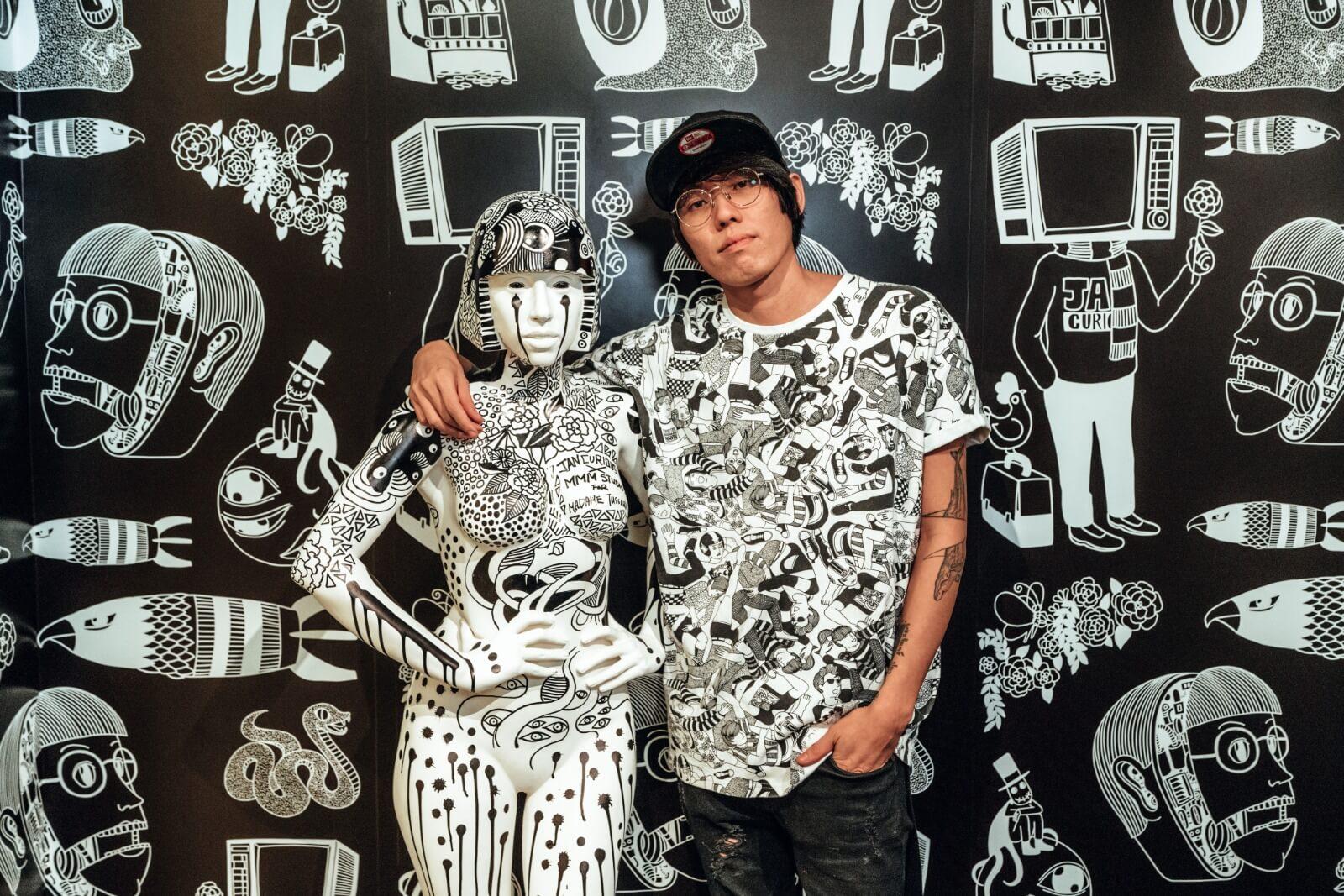 香港杜莎夫人蠟像館找來Jan Curious合作,為場館創作一系列巨型插圖壁畫及全球獨有的Lady Gaga塗鴉像。