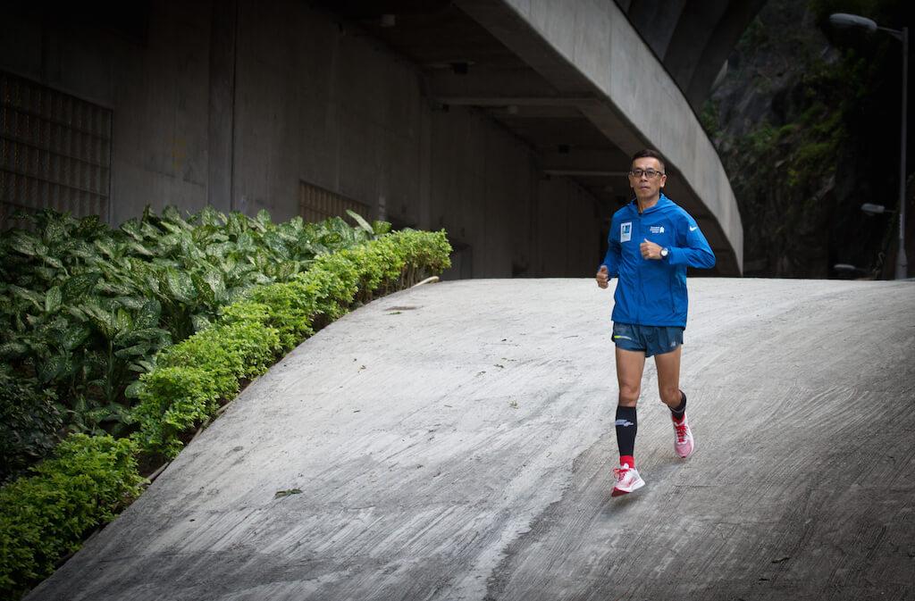 陳國明完成長跑能夠激勵別人,因為他是曾經接受腎臟移植的人。
