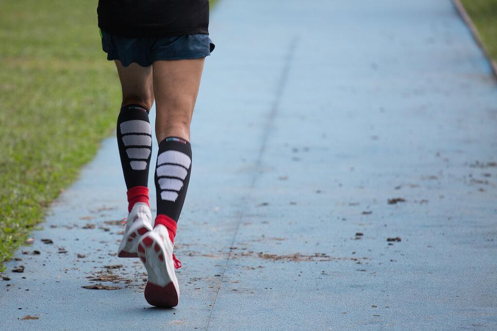 馬拉松的好處是,你只需要思考一樣東西,就是向前多踏一步。