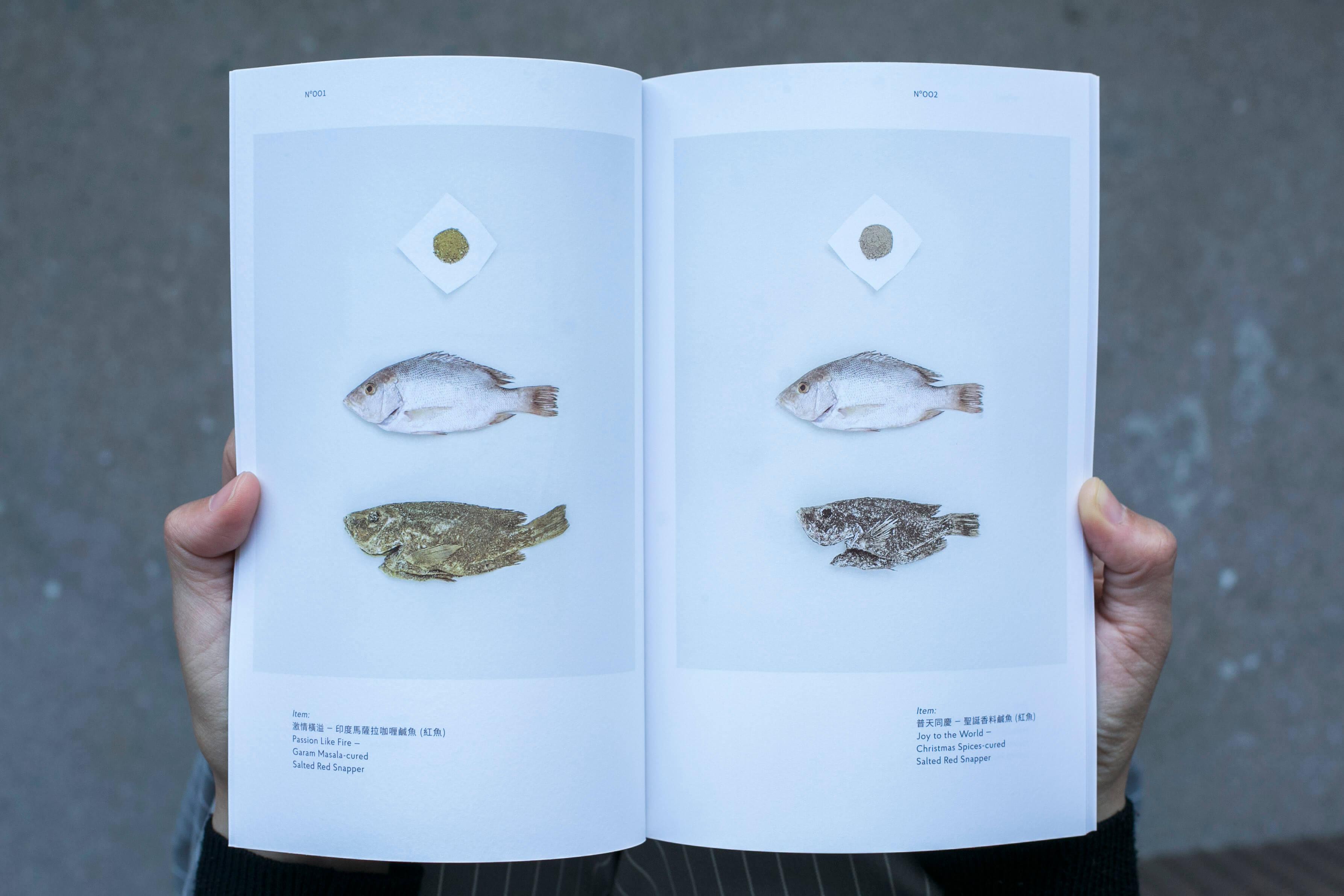 Kay製作了一本小書,記錄整個設計過程和成品。