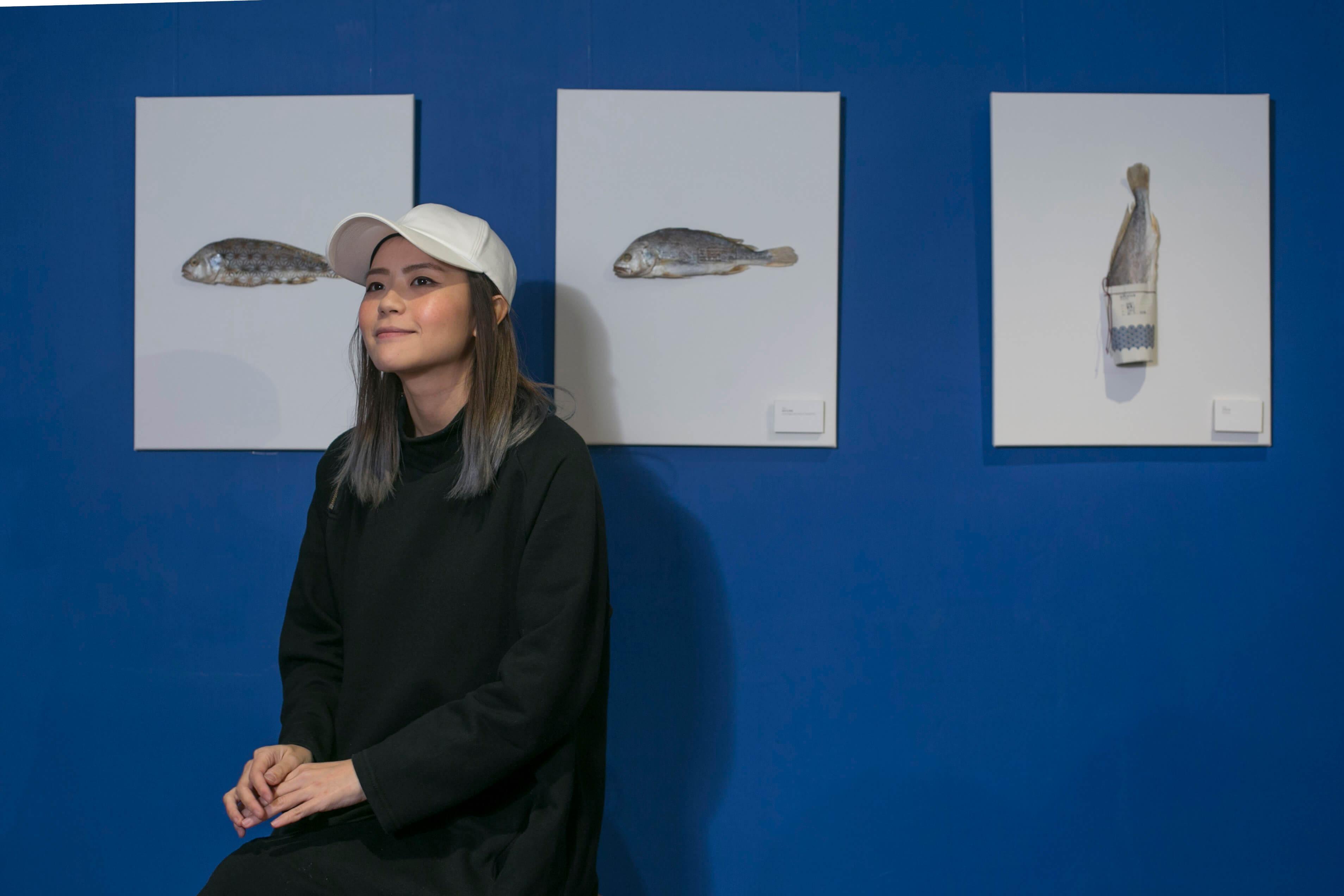 設計師Kay一直很想挑戰人們對鹹魚的想像,更認真得找鹹魚檔學醃魚。