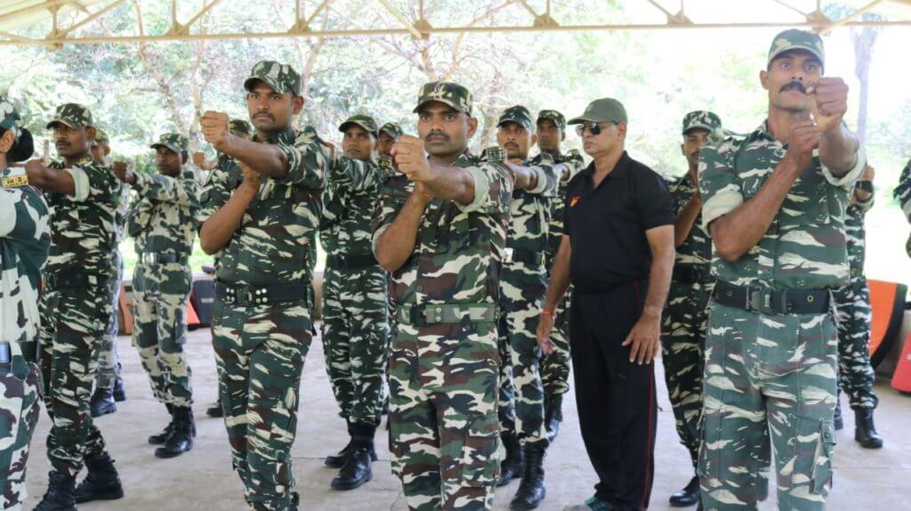 特種部隊如印度的黑鼠部隊,亦曾有受教於梁挺。(圖片由梁挺提供)