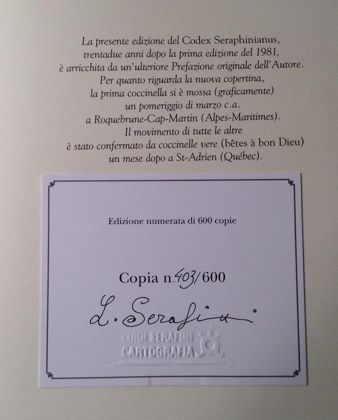 ˙珍藏版牌記上作者簽名;只印600本, 這本編號 403。