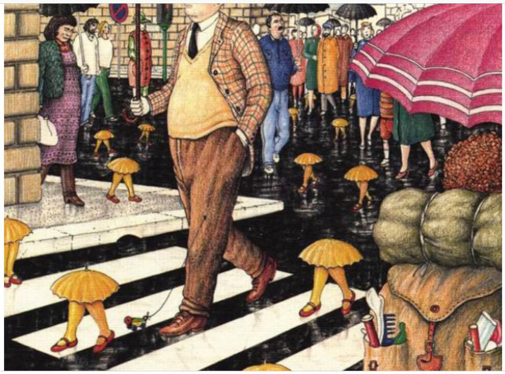 會走路的雨