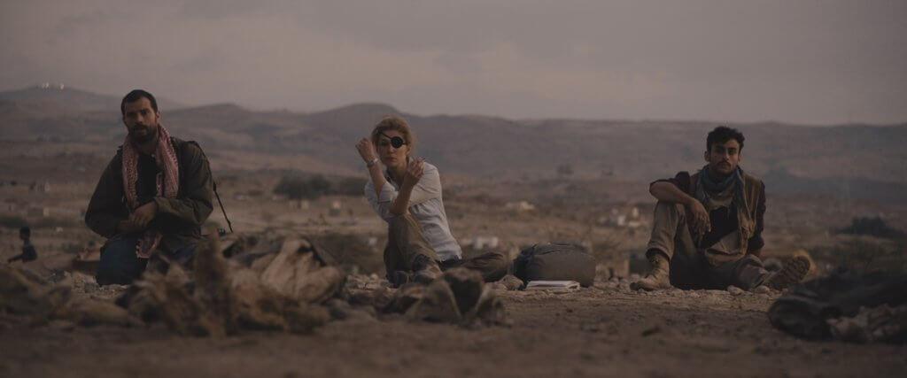 Marie Colvin在電影呈現了平凡的一面。