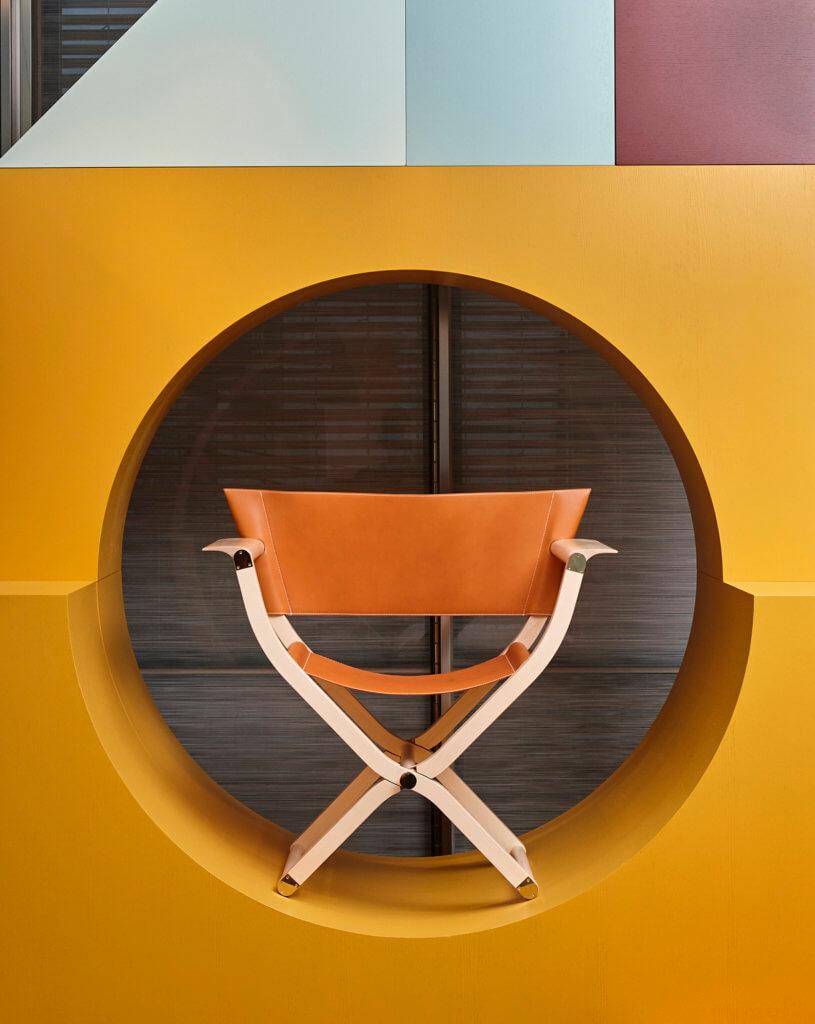 Pippa系列賣點是可摺、便攜,這張椅子也不例外。