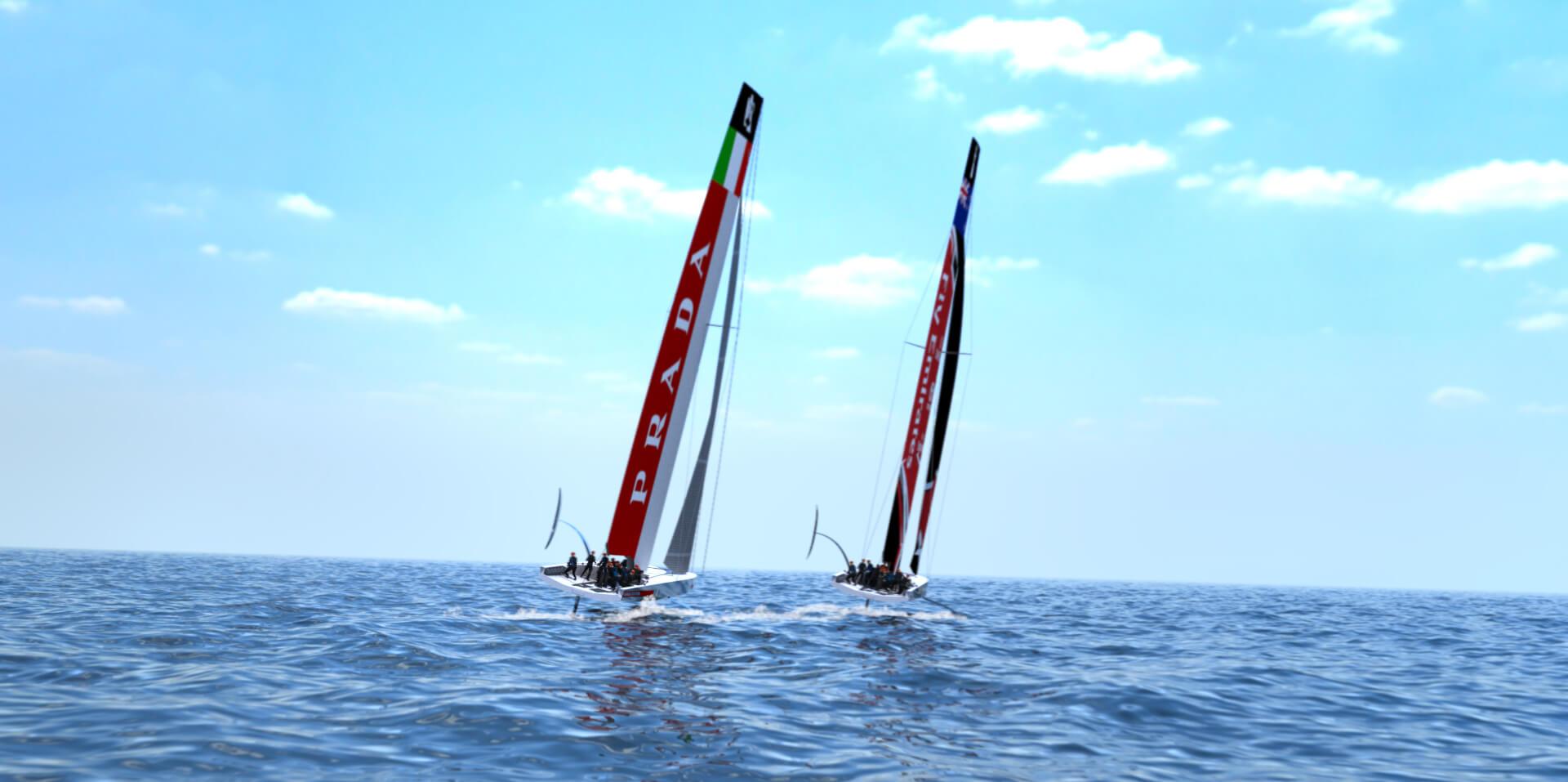 世界系列賽是美洲盃的 預賽,為2021年在紐西蘭舉行的決賽打響頭炮,第一階段將於2019年在意大利薩丁尼亞島卡利亞里舉行,屆時Luna Rossa船隊成員將駕駛全新單體帆船AC75出戰。(互聯網)