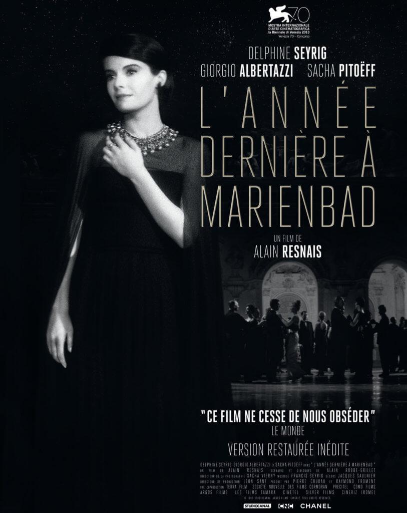 《去年在馬倫巴》在香奈兒的支持下已經4K數碼修復,早前已在威尼斯影展做首映。
