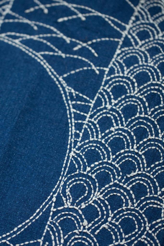 古代日本女孩自小學習針黹工藝名為刺子繡(Sashiko),隨行嫁妝也包括襤褸。
