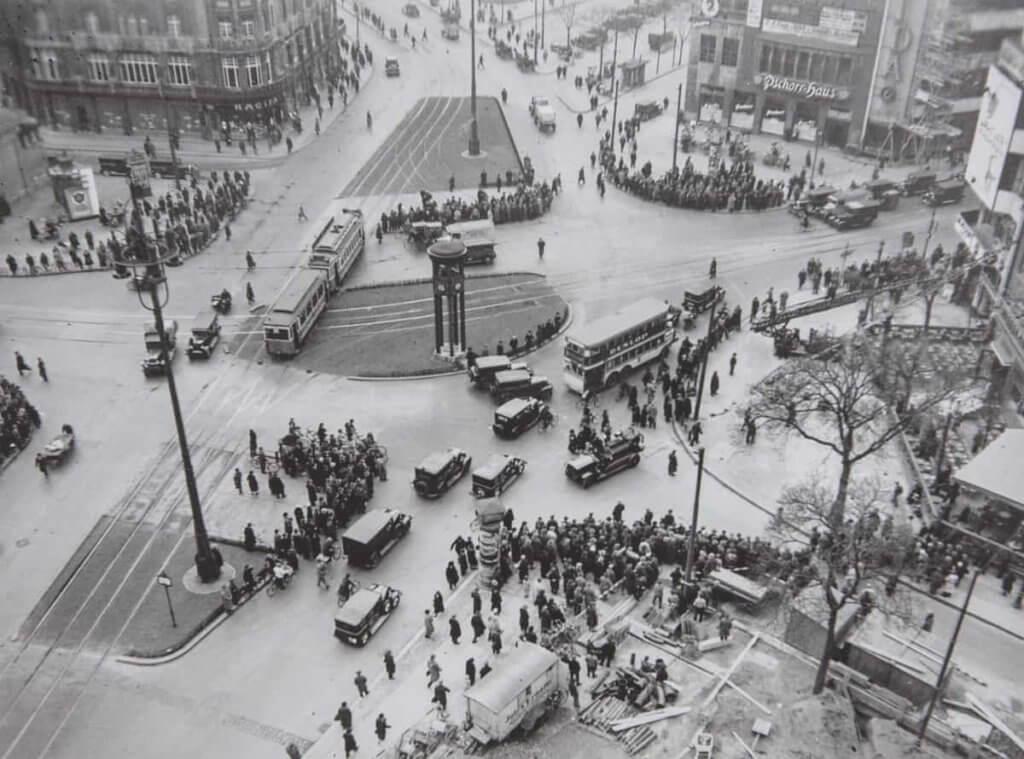 1932年Potsdamer Platz一帶街景