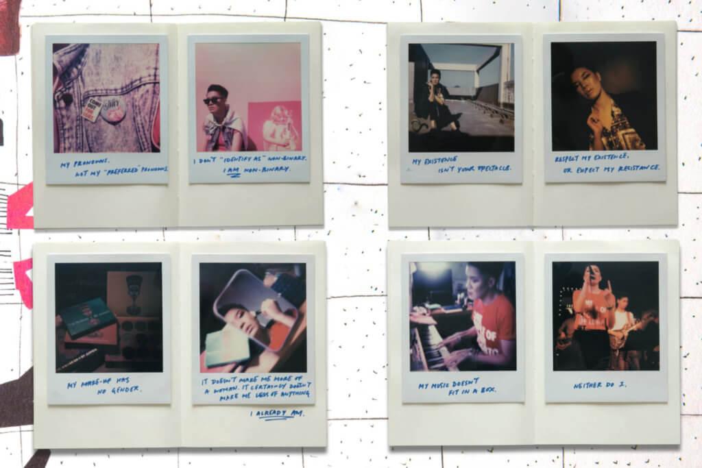 我們邀請了Vincy為自己的照片寫一些文字,描述自己的特質。