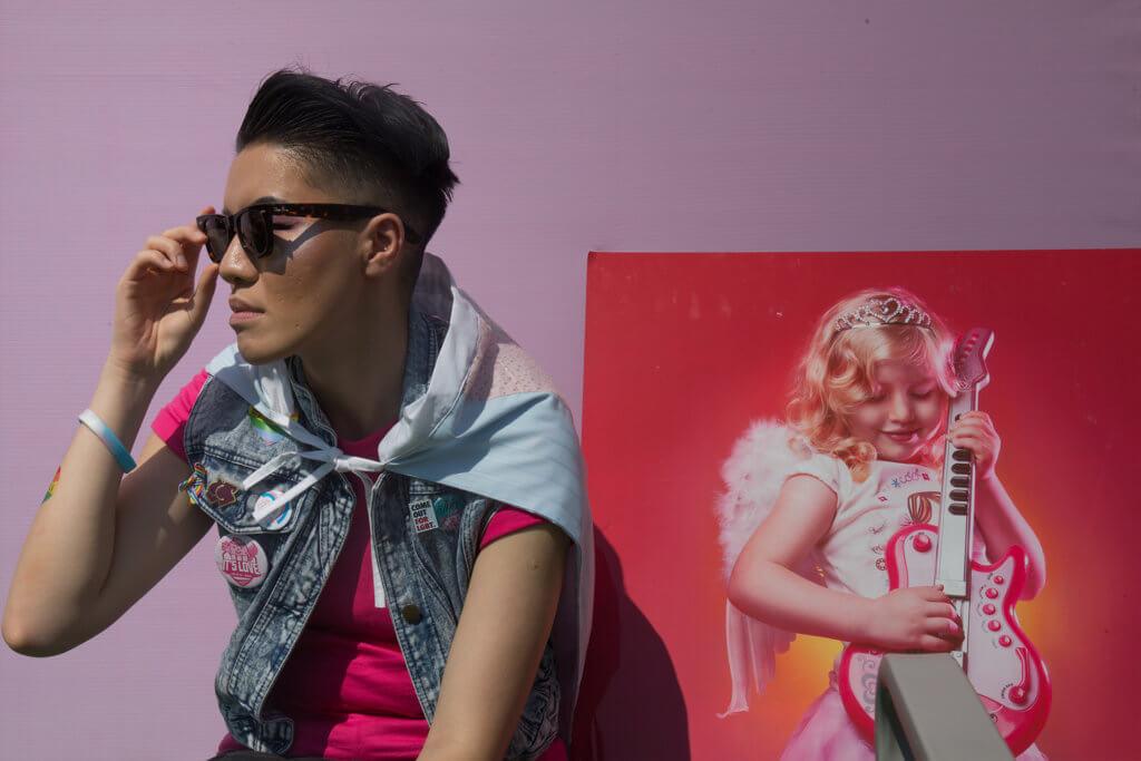 Vincy今年也是Pinkdot的表演者之一