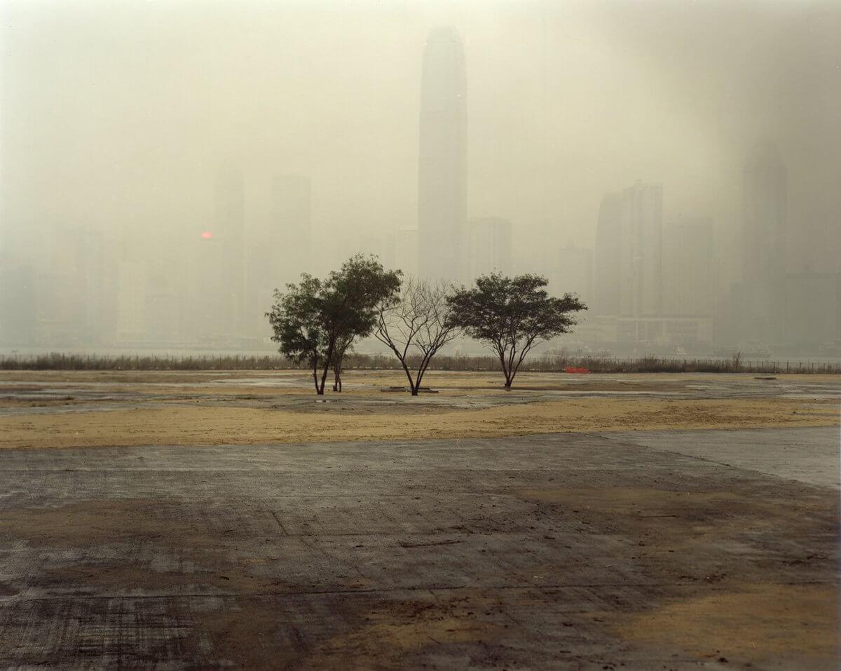 2011拍攝的西九文化區,圖為現時興建M+博物館的位置。