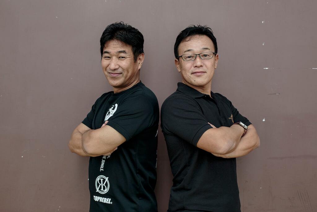 業務代表Sawai Chihiro(左)和行政總裁 Toru Kido(右)