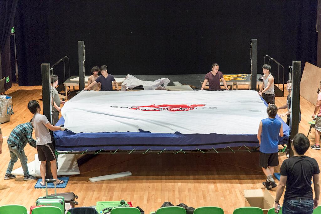 日摔在香港搞一場show,是許多港摔選手夢想成真的一刻。