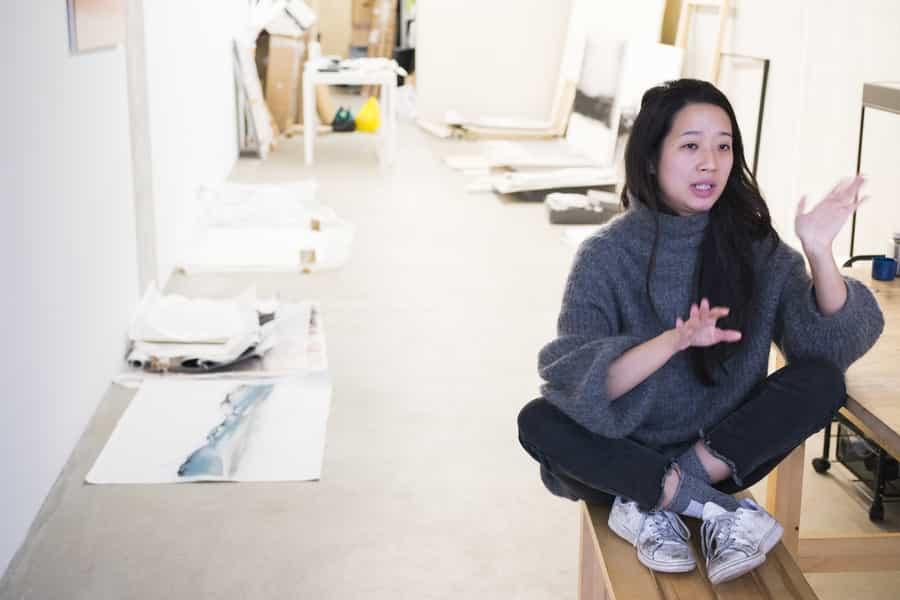 Carla Chan認為柏林生活成本低,很適合藝術家居住創作。