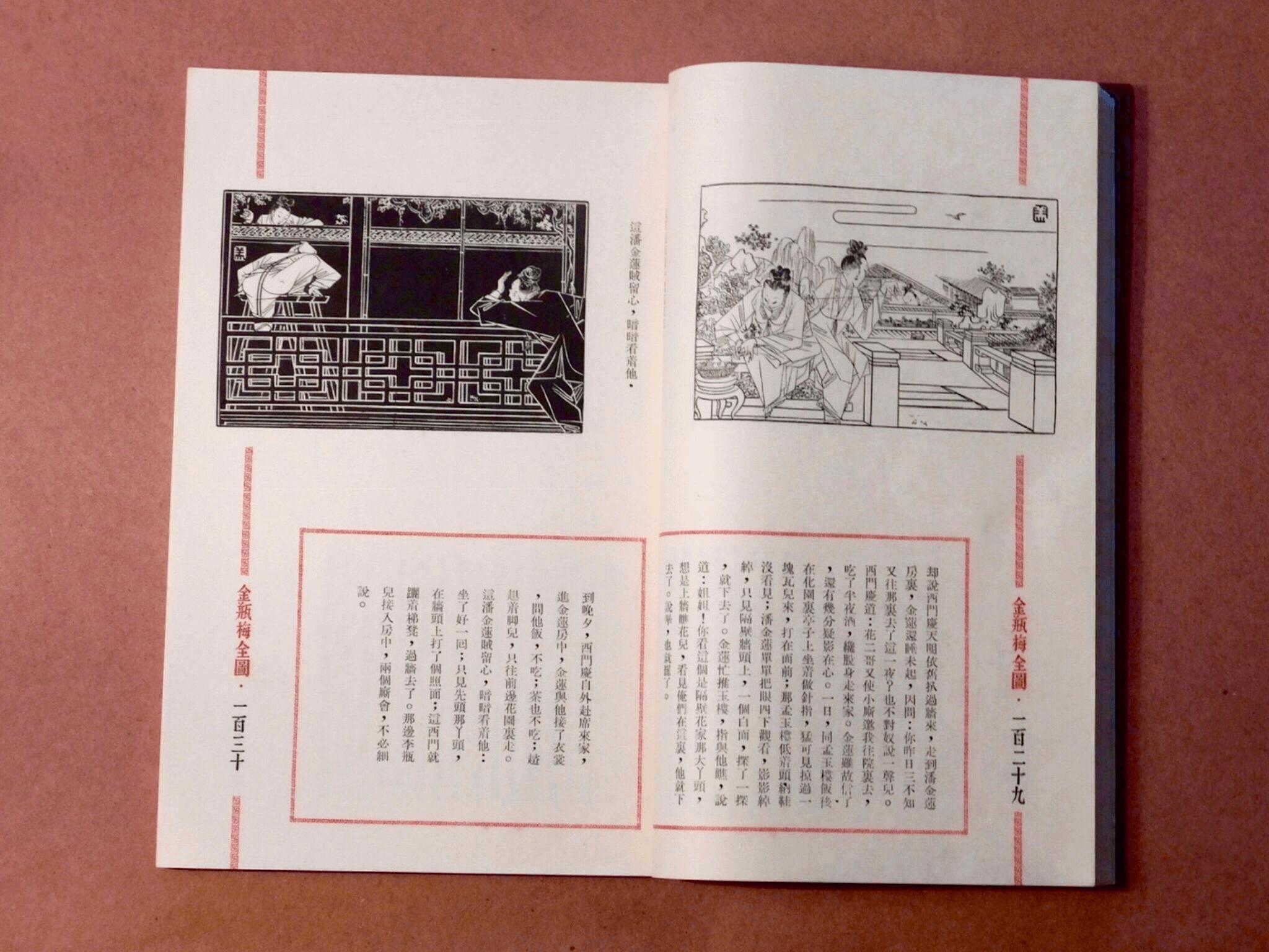 書的內頁全貌:上圖下文