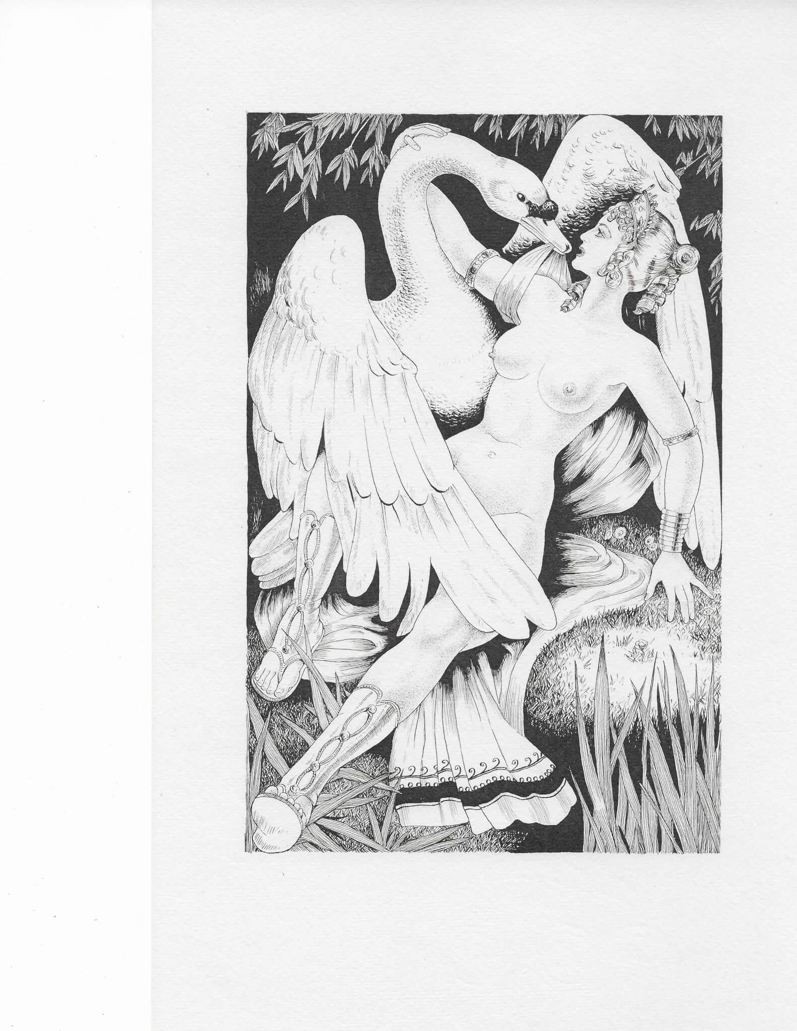 麗達與天鵝 見第六卷 Leda and the Swan